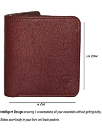 Rosset Brown Imported Genuine Artificial Leather Wallet For Men And Wallet For Boys