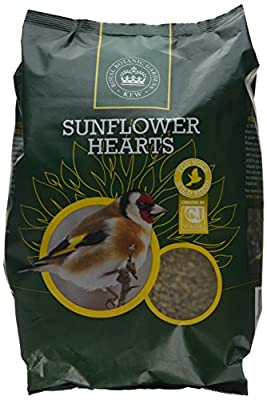 Kew Wildlife Care Collection 2Kg Kew Sunflower Hearts by CJ Wildbird Foods Ltd