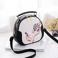 Bolso Clutch Bolso Transparente La Sra. Hand Shoulder Messenger Mini Bag Simple (Color : Hand Holds Candy, tamaño : 20cm*9cm*19cm)