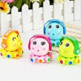 timeracing Kid Child Cute Cartoon Octopus Wind Up Clockwork Classic Spring Educational Toy - Random Color
