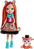 Enchantimals Mattel FRH39 - Tigermädchen Tanzie Tiger Puppe