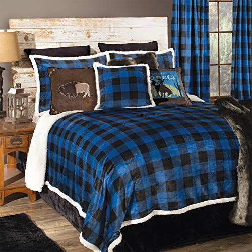 Carstens, Inc Queen blau (Quilts Queen-size-country)