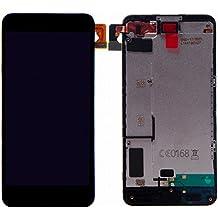 Nokia Microsoft lumia 630 635 LCD Display Schermo Vetro Digitizer Touch Screen Assemblato di Ricambio e Gratis Kit Utensili (Nero)