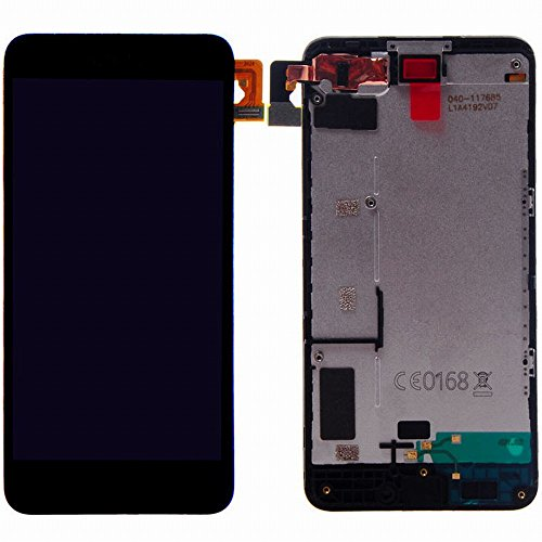 Nokia Microsoft Lumia 630 635 LCD Display Touchscreen Digitizer Glas Assembly Rahmen Ersatzteile + Werkzeuge (schwarz) Touch-screen-linse Digitizer