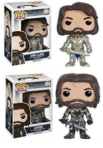Funko POP Warcraft Lothar King Llane Stylized Movie Vinyl Figure Set NEW