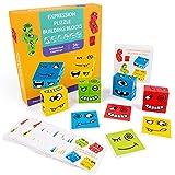 Abimy Tänkande träning barn ansiktsskiftande kuber leksak för barn ny