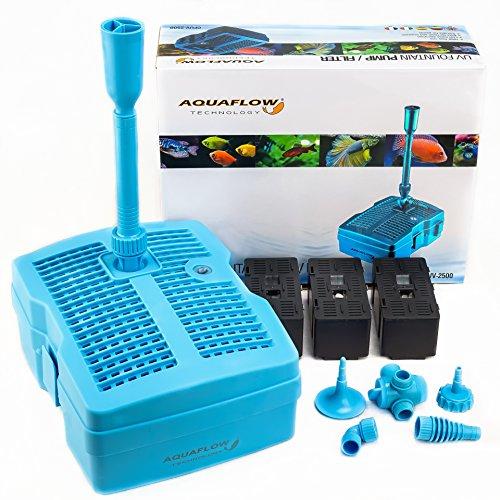 Aquaflow Technology® GFUV-2500 3in1 Filtro UV-Clarificador