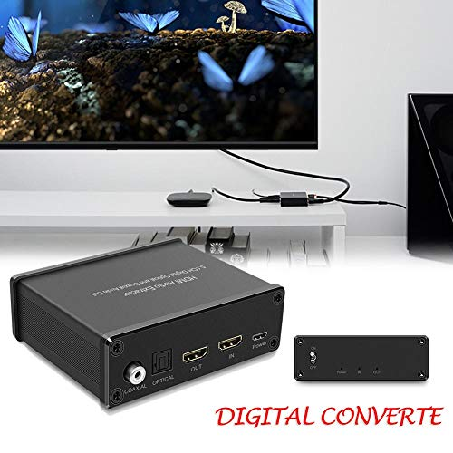 whelsara 4K HDMI Audio Splitter ...