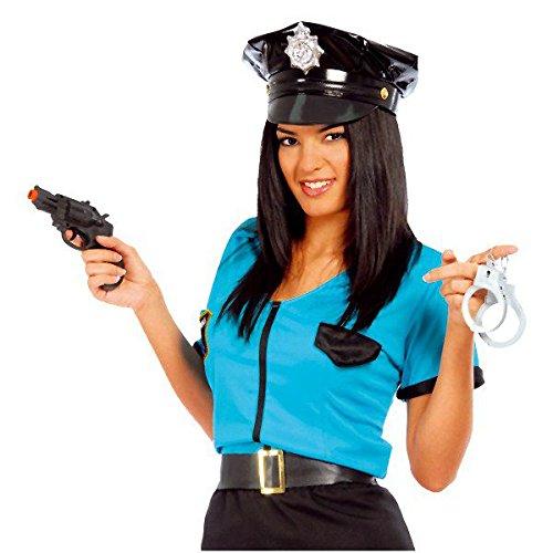 Guirca Fêtes gui16553 - Pistolet avec menottes