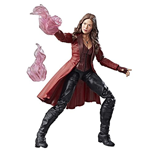 Captain america Marvel 6Legends Serie Scarlet Hexe