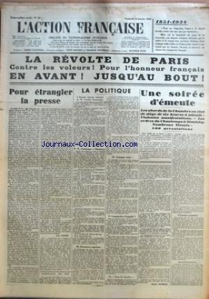 ACTION FRANCAISE (L') [No 12] du 12/...