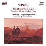 Carl Maria von Weber : Symphonies n° 1 et n° 2