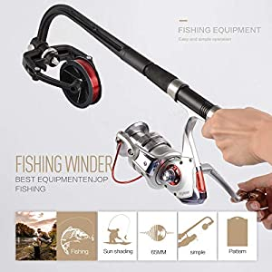 Yuede Fishing Line Winder, Reel Spooler Machine Spinning Reel Spool Spooling Station System Fishing Tackle Sea Carp Fishing Tools and Accessories from Yuede