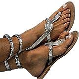 Scarpe da Donna Estate lanciare Scarpe Basse di Gomma Slittata Sandali Moda Modello di Serpente Scarpe Basse All'aperto Spiaggia di Sabbia Passeggiare Sandali EU 35-42