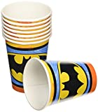 Amscan International Pappbecher 266 ml Batman Papier