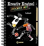 Kreativ-Kratzel Pocket Art: Fu�ball (Kreativ-Kratzelbuch) Bild