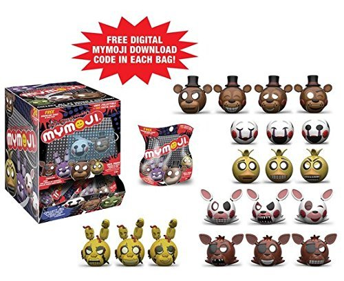 Five Nights at Freddy's Mymoji Mini-Figures Set 1 Random Blind Bag