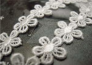 En grec mignon femme hITOP élégant style perles double petites fleurs blanches dentelle raffinée cheveux headwrap bandeau cheveux stirnschmuck de haute qualité