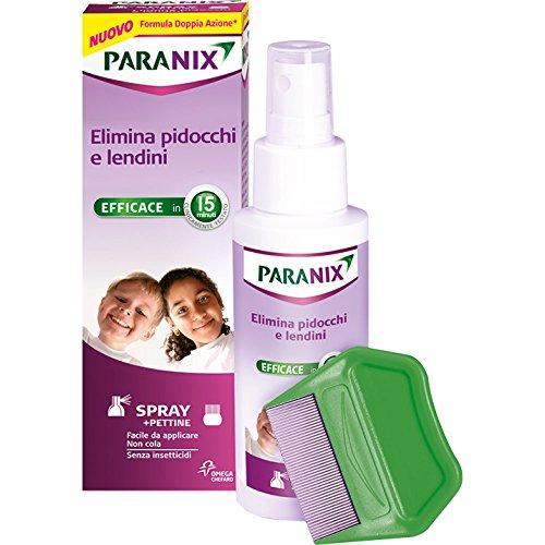 pettine pidocchi paranix