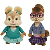 Ty - Lot de 4 peluches Alvin et les Chipmunks - Alvin