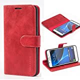 Mulbess Galaxy J5 2016 Case, Samsung J5 2016 Leather Case,