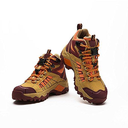 CHT Printemps En Plein Air Et à L'automne été Des Modèles Féminins Chaussures De Randonnée Respirante Ventilation Taille Rouge Jaune Option Yellow