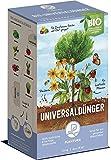 Plantura Bio Universaldünger Langzeitwirkung | für kraftvolle Pflanzen | 100% tierfrei & Bio-Zertifiziert | gut für den Boden | unbedenklich für Haus- & Gartentiere | Naturdünger | 1,5 kg | NPK 6-3-4