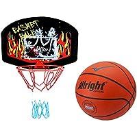 kimet Canasta de Baloncesto (con Pelota de Baloncesto–Canasta Baloncesto Juego manschafts Deportes Jugador de Baloncesto