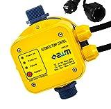 AWM Pumpen Druckschalter automatische Pumpensteuerung, verkabelt, Trockenlaufschutz, Rückschlagventil, Manometer, maximale 10 bar, AM-129