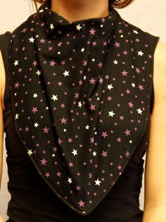 Adult Bandana Bib/Clothing Protector - 4 Sizes Avaliable (STARGAZER) (Size 4)