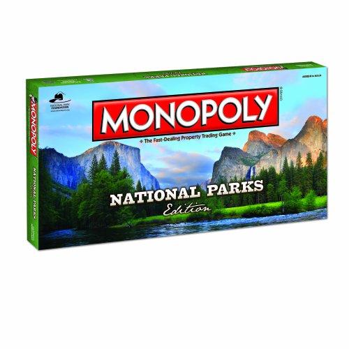 Preisvergleich Produktbild National Parks Monopoly Board Game: National Parks Monopoly