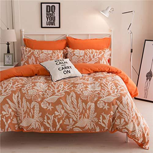 dfsgrfvf Bettwäsche-Set Heimtextilien Zu den Bettwäschesets gehört Bettbezug Bettlaken Kissenbezug Queen King Twin SizeBettwäschesets Bettwäsche-Sets - Twin-size-bettlaken