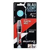 BLUFIXX PW für Kunststoffe und Holz - Nachfüllkartusche, Weiss