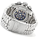 Invicta Men's 12899 Bolt Reserve Chronograph Silver and Gold Tone Dial Stainless Steel Watch