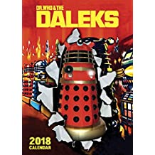 Dr Who Cult A3 Calendar 2018