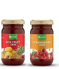Pursuit MixFruit and Strawberry Jam (Set of 2)