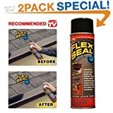 Chemical Science Swift Response FSR20 Liquid Rubber Sealant & Coating - Stop Leaks Fast!, As Seen On TV, 2 Pack