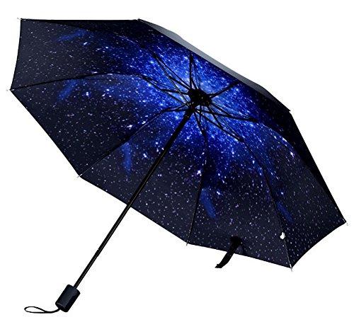 Koala superstore ombrello pieghevole portatile ombrello da sole, cielo stellato