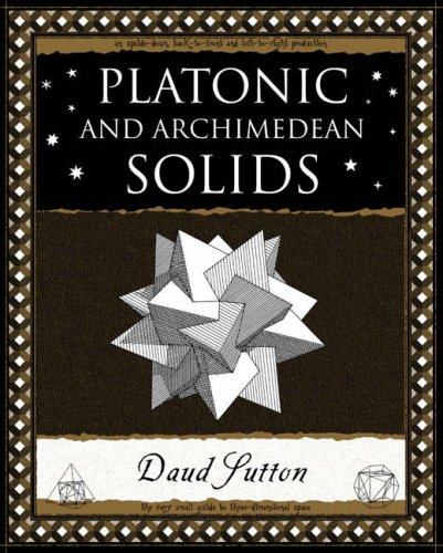 Platonic and Archimedean Solids (Wooden Books Gift Book) por Daud Sutton