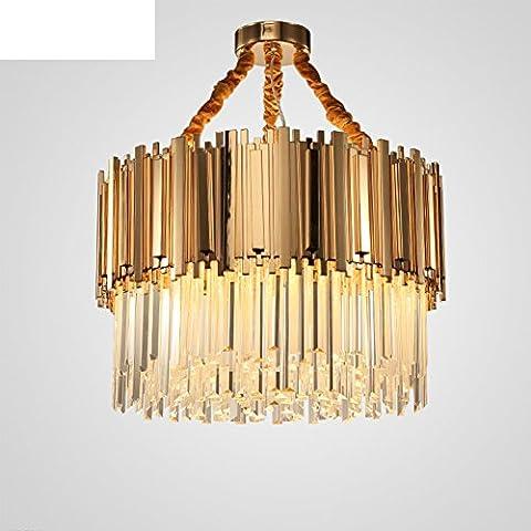 Lampadario di vetro di cristallo lineare/Luci ristorante