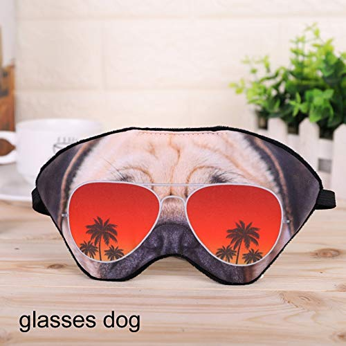 Party Masks - Party Masks Festive 1 Pcs Cartoon Animal Shade Sleep Mask Home Black Help Breathable Funny Bandage - Masks Women Wear Lace Gold Couples Stick Adults Pack Male Glasses Superher
