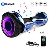 COLORWAY Hoverboard SUV, Gyropode 700W Self-Balance avec Bluetooth&LED, Scooter Electrique...