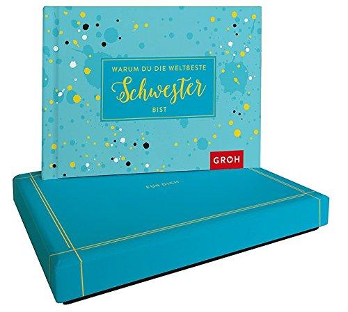 Warum du die weltbeste Schwester bist: Botschaft in schöner Geschenkbox