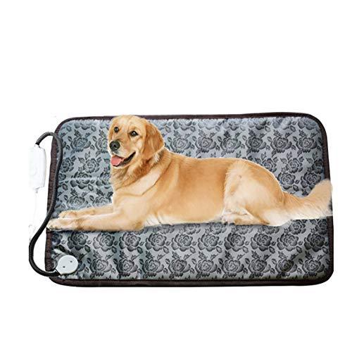 YXLJYH Elektrische heizkissen pet, Haustier heizkissen Wasserdicht Heizdecke wärmedecke Elektrische Hund & Katze erwärmung Matte-C 48x72cm(19x28inch)