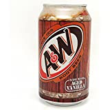 A&W Root Beer Can - 24 Case