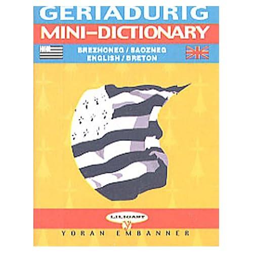 Breton-English Mini Dictionary
