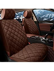AMYMGLL Autozubehör Kissenbezug Standard Edition (7set) Deluxe Edition (12set) Auto-Universal Plüsch Four Seasons 4 Farben wählen