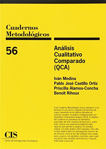 Análisis Cualitativo Comparado (QCA) por Iván . . . [et al. ] Medina