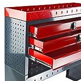 DEMA Kfz Regalsystem/Einbauregal / 3 Schubladen für DEMA Kfz Regalsystem/Einbauregal / 3 Schubladen