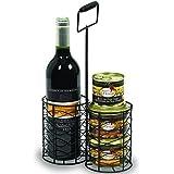 Coffret cadeau épicerie - Boisson alcoolisée - Panier Gastronomique Vin Bloc Foie Gras Terrines - AOC Bordeaux